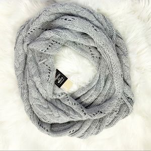 Michael Michael Kors Cable-Knit Infinity Scarf NWT